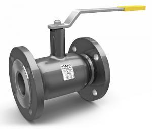 Кран шаровой стальной LD фланцевый стандартнопроходной DN 100 PN 16