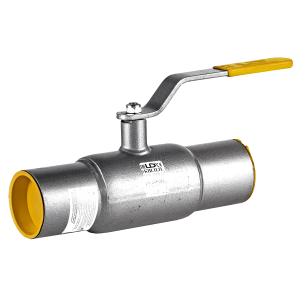 Кран шаровой стальной LD под приварку стандартнопроходной DN 80 PN 25