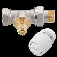 Комплект термостатический для однотрубных систем RA-G Danfoss DN15