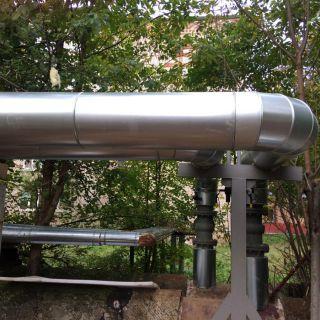 Теплоизоляция труб теплотрассы