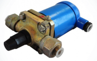 Клапан запорный муфтовый стальной 13с810р10 DN 15 PN 4 BP/BP