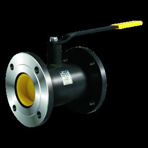 Кран шаровой стальной LD фланцевый стандартнопроходной DN 125 PN 16