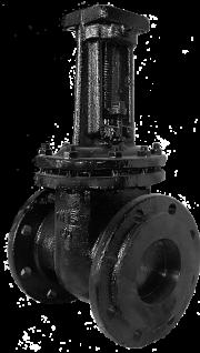 Задвижка чугунная 30ч906бр под электропривод DN 150 PN 16 (ЛМЗ)