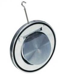 Клапан обратный стальной одностворчатый CB5440 Tecofi DN 200 PN 16
