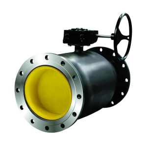 Кран шаровой стальной LD фланцевый стандартнопроходной DN 300 PN 16