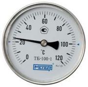 Термометр биметаллический ТБ100 Дк 100 Дш 100 t.m120