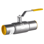 Кран шаровой стальной LD под приварку стандартнопроходной DN 250 PN 25