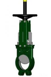 Задвижка шиберная чугунная Tecofi VG3400-00NI DN 400 PN 10