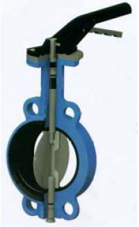 Затвор поворотный дисковый VP3448-08 DN 250 PN 16
