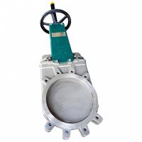 Задвижка шиберная стальная Tecofi VG6400-03EP с пневмоприводом DN 500 PN 10