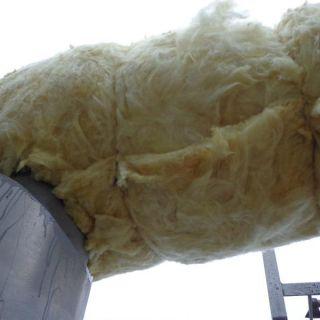 Теплоизоляция трубопроводов минеральной ватой