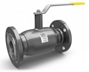 Кран шаровой стальной LD фланцевый полнопроходной DN 40 PN 40
