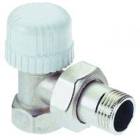 Клапан ручной регулировки угловой Icma DN15