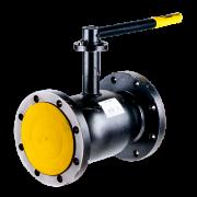 Кран шаровой стальной стандартнопроходной фланцевый 11с67п DN 150 PN 16 Titan