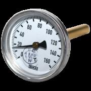 Термометр биметаллический A5002 Дк 100 Дш 40 t.m160
