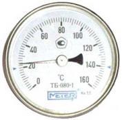 Термометр биметаллический ТБ80 Дк 80 Дш 100 t.m160