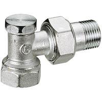 Клапан запорный R16 угловой Giacomini DN15
