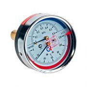 Термоманометр осевой ТМТБо Дк80 Ду0-0,6