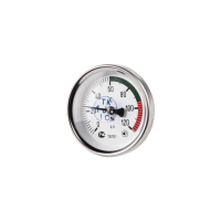 Термометр биметаллический ТБП-Т120 Дк 63 Дш 100