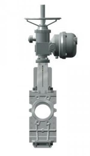Задвижка шиберная стальная Tecofi VG6400-04EP под электропривод DN 300 PN 10