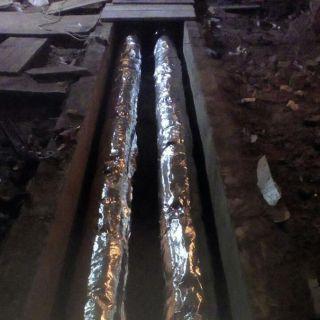 Теплоизоляция трубопроводов теплоснабжения