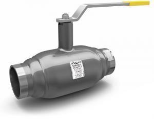 Кран шаровой стальной LD под приварку полнопроходной DN 80 PN 25