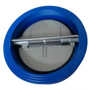Клапан обратный двустворчатый, пластины - нержавеющая сталь