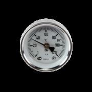 Термометр накладной биметаллический на скобе ТБП63/ТР120 Дк 63 Дт 38
